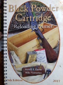 SPG Lube Black Powder Cartridge Reloading Primer- NEW 9th Ed.