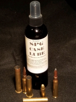 SPG Brass Case Lube 8oz bottle